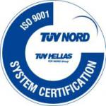 Πιστοποίηση Συστήματος Ποιότητας - ISO 9001 System Certification - Aegean Recycling Εταιρεία Ανακύκλωσης & Επεξεργασίας Αποβλήτων Αστικού & Βιομηχανικού Τύπου